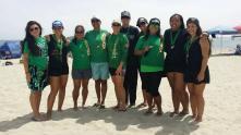 Medal winners Long Beach 2014 - women and junior girls