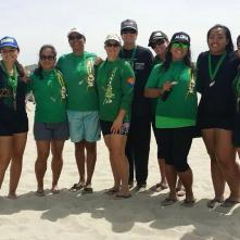 Medal winners Long Beach 2014 - women and junior girls