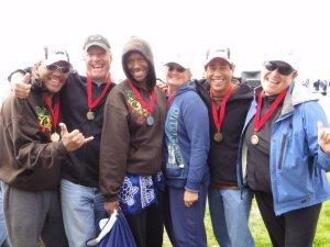 Alcatraz senior masters gold medal winners