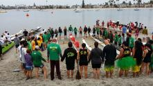 Canoe blessing in CA