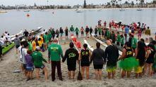 Canoe blessing in CA